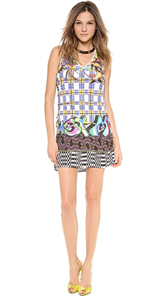 Just Cavalli V Neck Dress