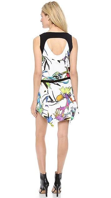 Just Cavalli Tech Flower Dress