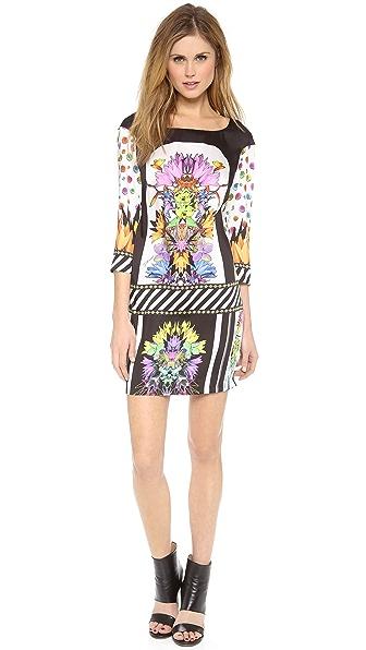 Just Cavalli Cindy Print Shift Dress