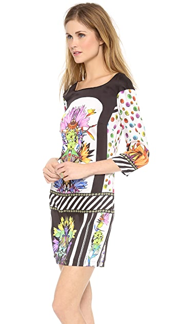 Just Cavalli Cindy Print Shift Dress