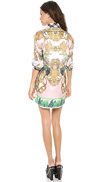 Just Cavalli Linda Print Shirtdress