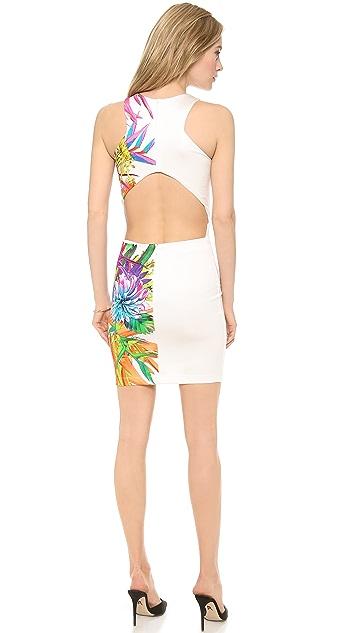 Just Cavalli Climber Flower Printed Dress