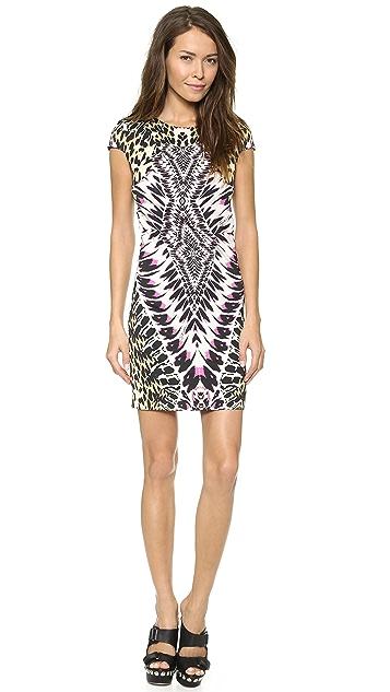 Just Cavalli Tie Dye Print Dress