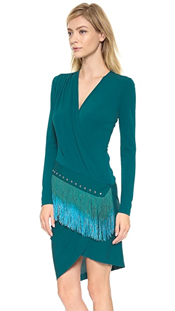 Just Cavalli Fringe Dress
