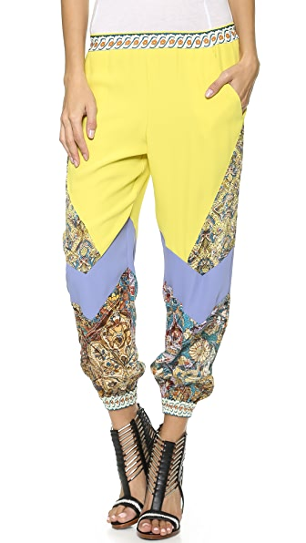 Just Cavalli Colorblock Pants
