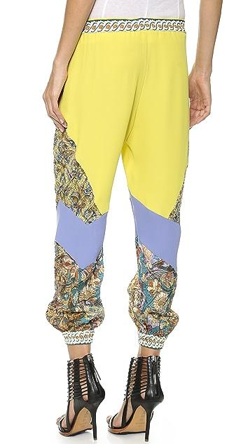 Just Cavalli Colorblock Pants
