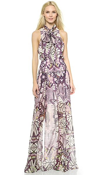 Just Cavalli Print Gown