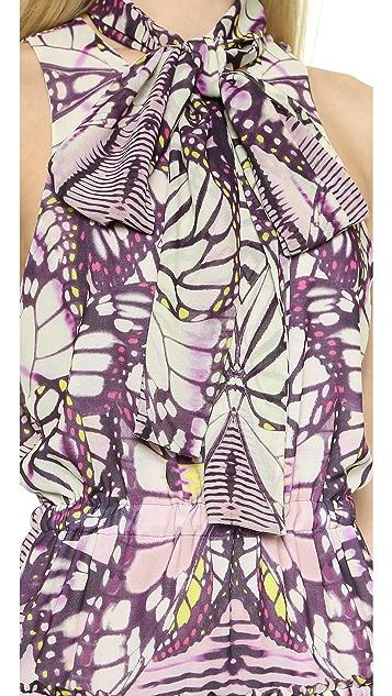 Just Cavalli Print Gown