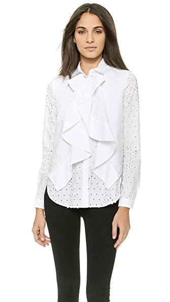 Just Cavalli Ruffle Blouse