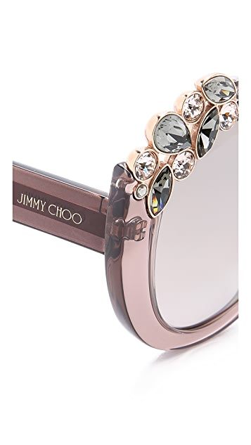 Jimmy Choo Megan Sunglasses
