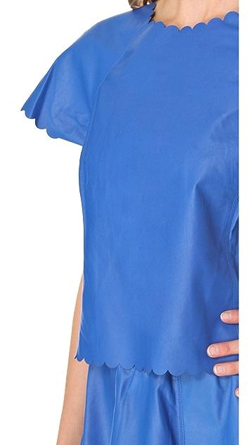 Joy Cioci Nelly Leather T-Shirt