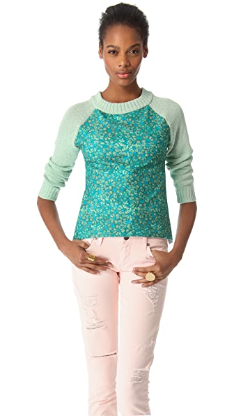 Joy Cioci Fern Combo Sweater