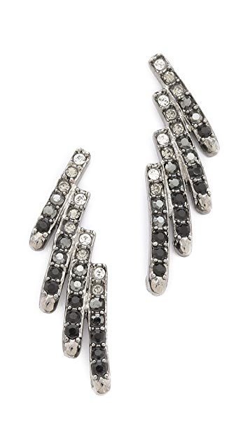 Joanna Laura Constantine Crystal Wing Earrings