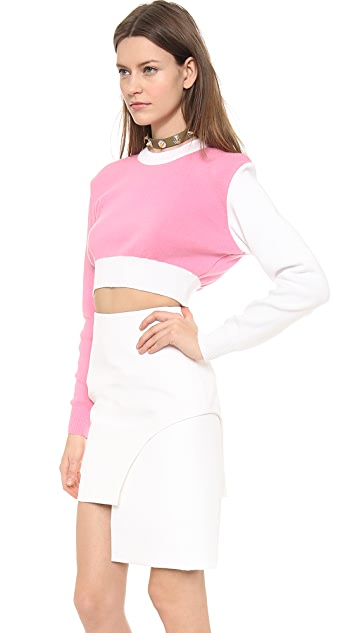 Jacquemus Cropped Sweater