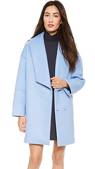 Jacquemus Irregular Collar Coat