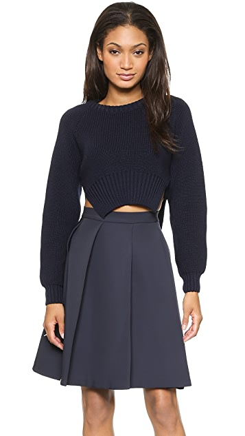 Jacquemus Cropped Pullover