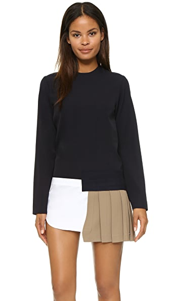 Jacquemus Pleated Shirt Dress