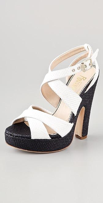 Jerome C. Rousseau Daho Crisscross Sandals