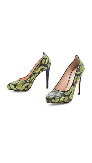 Jerome C. Rousseau Susanne Sequin Pumps