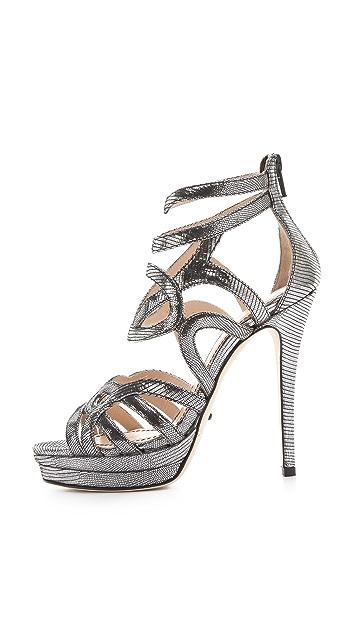 Jerome C. Rousseau Orner Geometric Sandals
