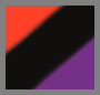 Black/Purple/Red