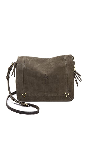 Jerome Dreyfuss Suede Igor Shoulder Bag