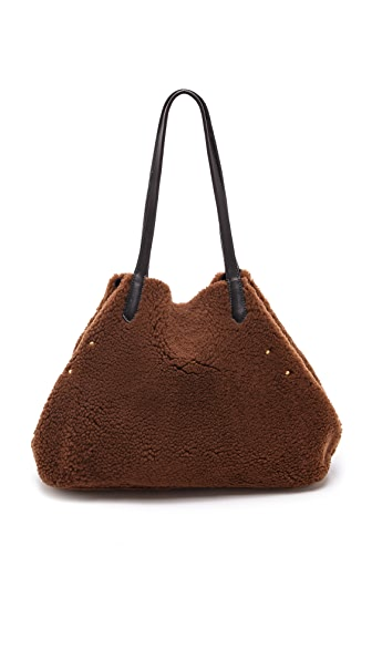 Jerome Dreyfuss Loic Elaphe A Pois Shopping Bag