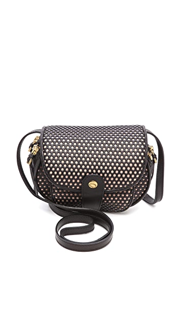 Jerome Dreyfuss Momo Perf Cross Body Bag