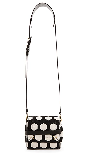 Jerome Dreyfuss Nicolas Haircalf Cross Body Bag