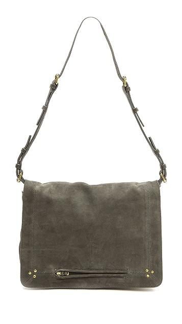 Jerome Dreyfuss Albert Plomb Nubuck Bag