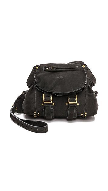 Jerome Dreyfuss Twee Small Plomb Velvet Bag