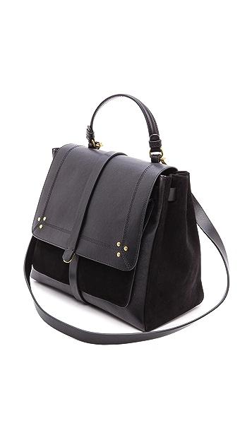 Jerome Dreyfuss Edouard Black Caviar Bag