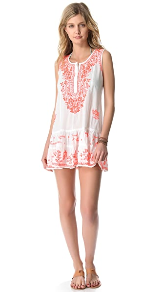 Juliet Dunn Sleeveless Cover Up Dress