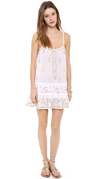 Juliet Dunn Strappy Cover Up Dress