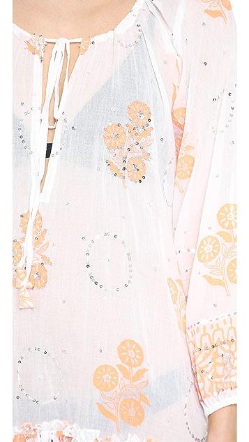 Juliet Dunn Gypsy Frill Dress