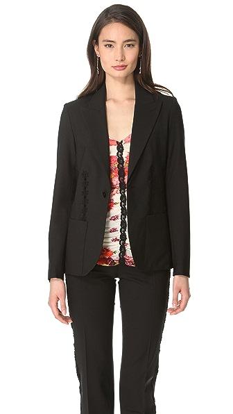 Jean Paul Gaultier Lace Stripe Jacket