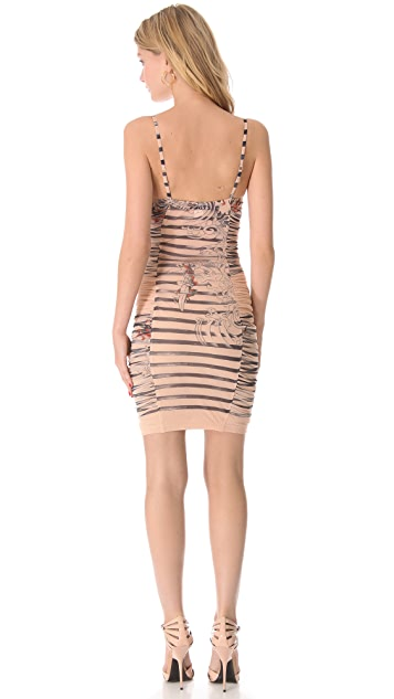 Jean Paul Gaultier Printed Mini Dress