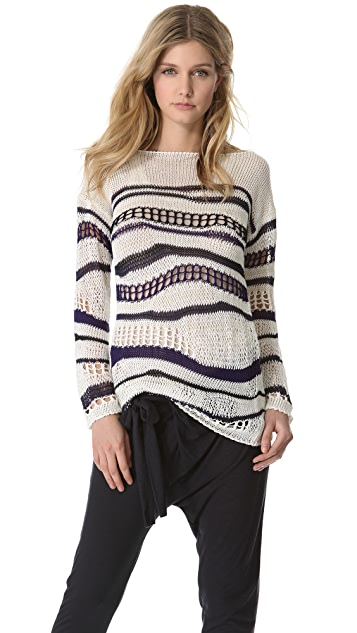 Jean Paul Gaultier Open Knit Sweater