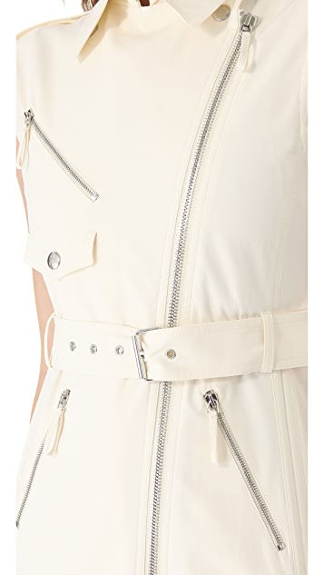 Jean Paul Gaultier Sleeveless Trench Dress