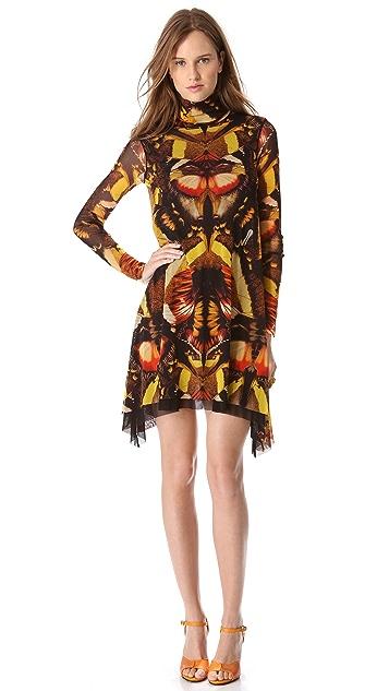 Jean Paul Gaultier Printed Turtleneck Dress