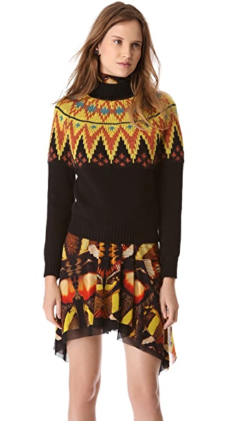Jean Paul Gaultier Long Sleeve Printed Sweater