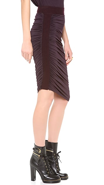 Jean Paul Gaultier Jersey Pencil Skirt