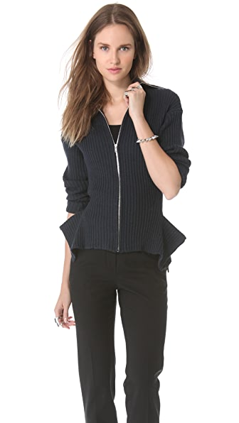 Jean Paul Gaultier Turtleneck Zip Sweater