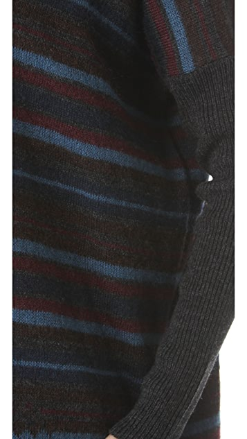 Jean Paul Gaultier Striped Tunic Sweater