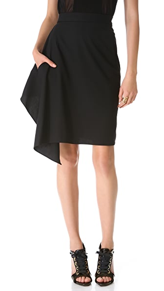 Jean Paul Gaultier Pencil Ruffle Skirt