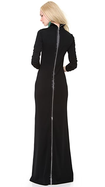 Jean Paul Gaultier Turtleneck Sweater Dress