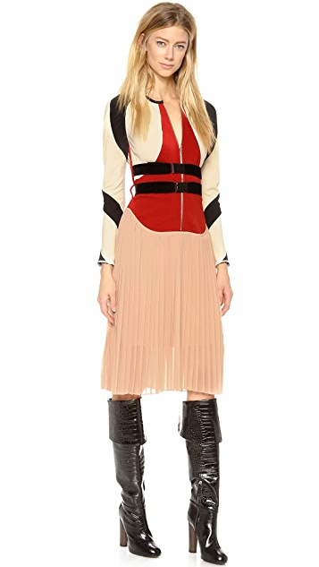 Jean Paul Gaultier Pleated Dress