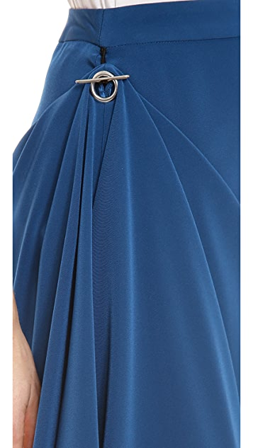 Jean Paul Gaultier Draped Pencil Skirt