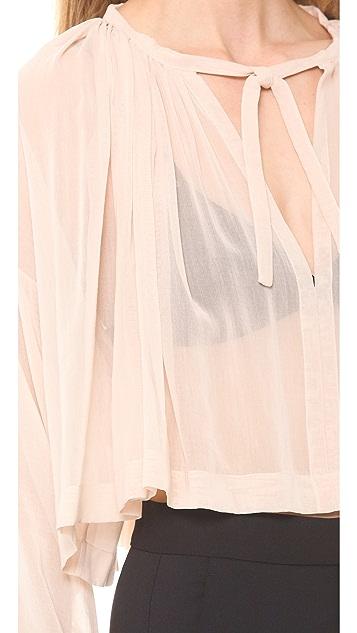 Jean Paul Gaultier Long Sleeve Blouse