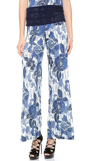 Jean Paul Gaultier Printed Pants